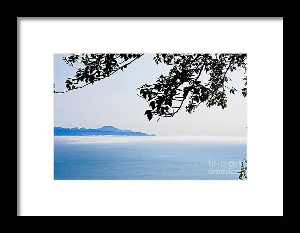 Photography Framed Print featuring the photograph Shrouded In Clouds by Terry Cotton