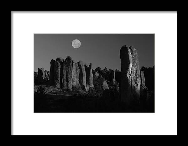 Sierra Madre Framed Print featuring the photograph Sierra Madre II by Christian Heeb