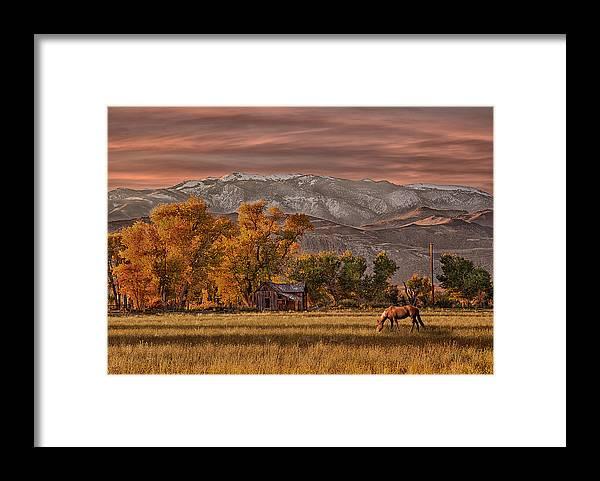 Usa Framed Print featuring the photograph Sierra Sunrise by Armando Picciotto