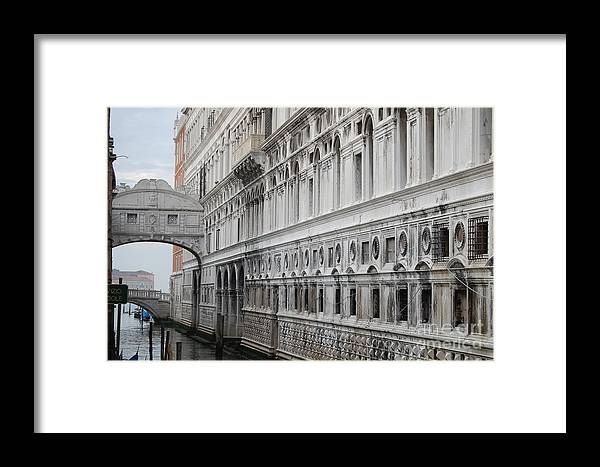 Venice Framed Print featuring the photograph Sigh by Waverley Manson
