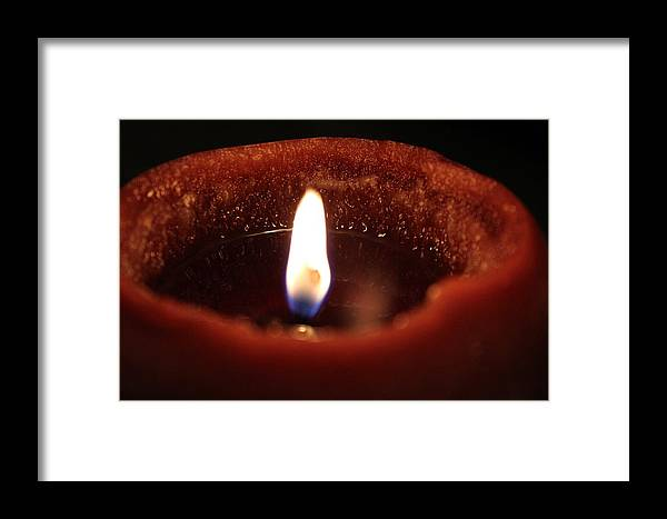 Candle Framed Print featuring the photograph Silence by Bill Daniel Johnson