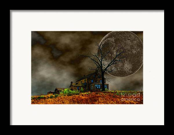 Eerie Framed Print featuring the photograph Silent Hill 2 by Dan Stone