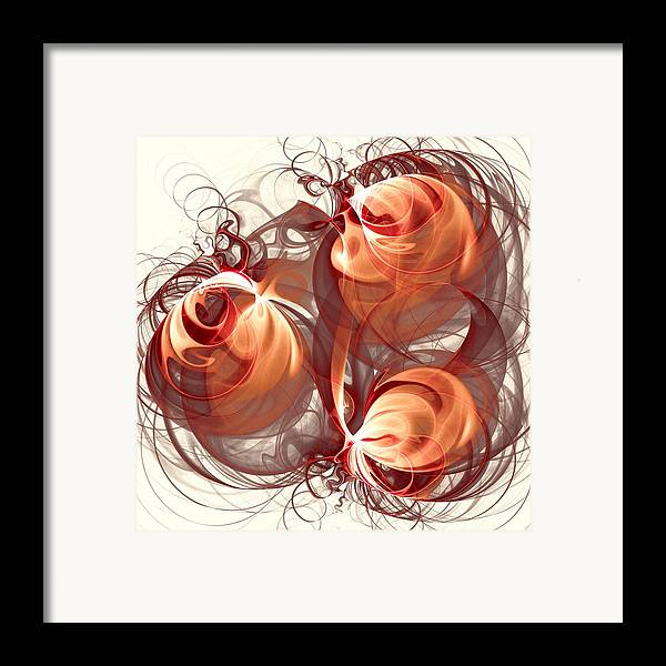 Malakhova Framed Print featuring the digital art Silk Labyrinth by Anastasiya Malakhova