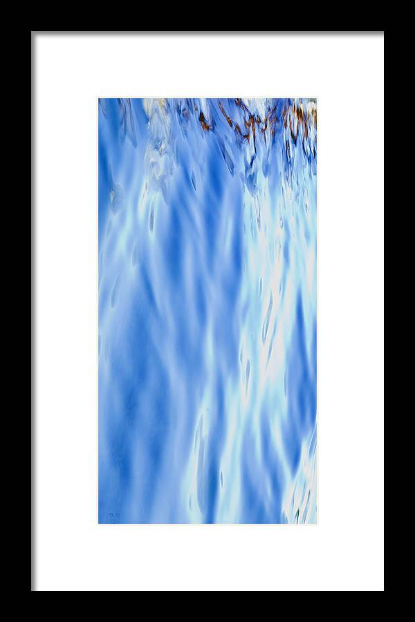 Abstract Framed Print featuring the photograph Silk by Theresa Tahara
