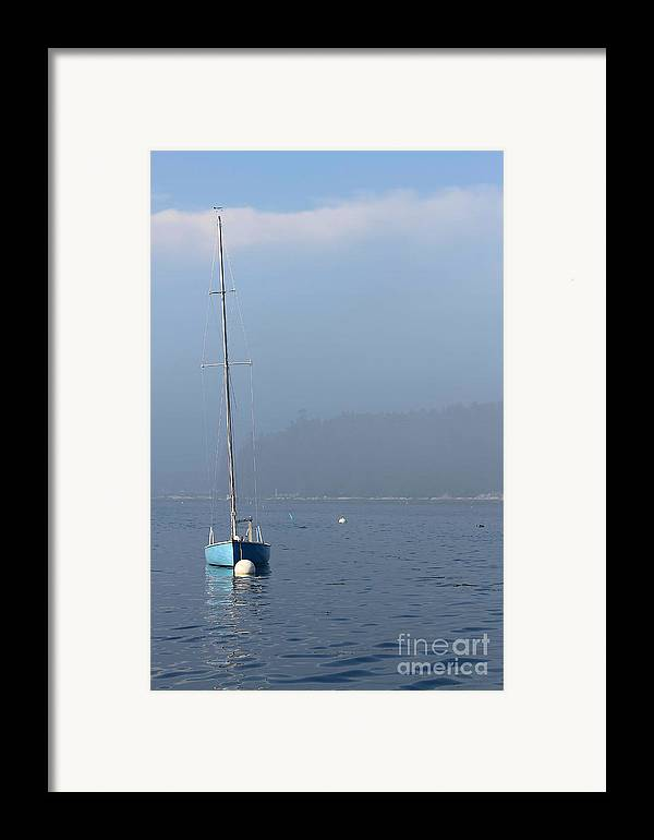 Sailboat Framed Print featuring the photograph Sill Boat In Maine by Heidi Piccerelli