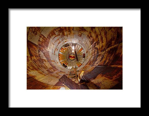 Color Framed Print featuring the photograph Silo by Christian Peay