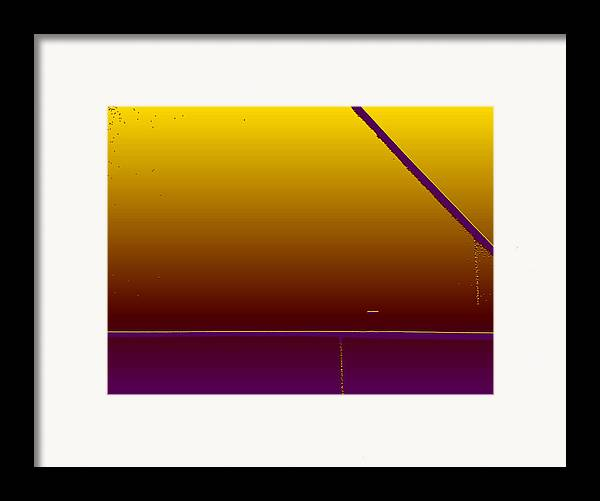 Minimal Framed Print featuring the photograph Simple Geometry - 4 by Lenore Senior