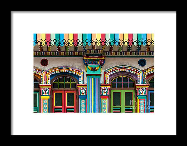 Singapore Framed Print featuring the photograph Singapore 12 by Tom Uhlenberg