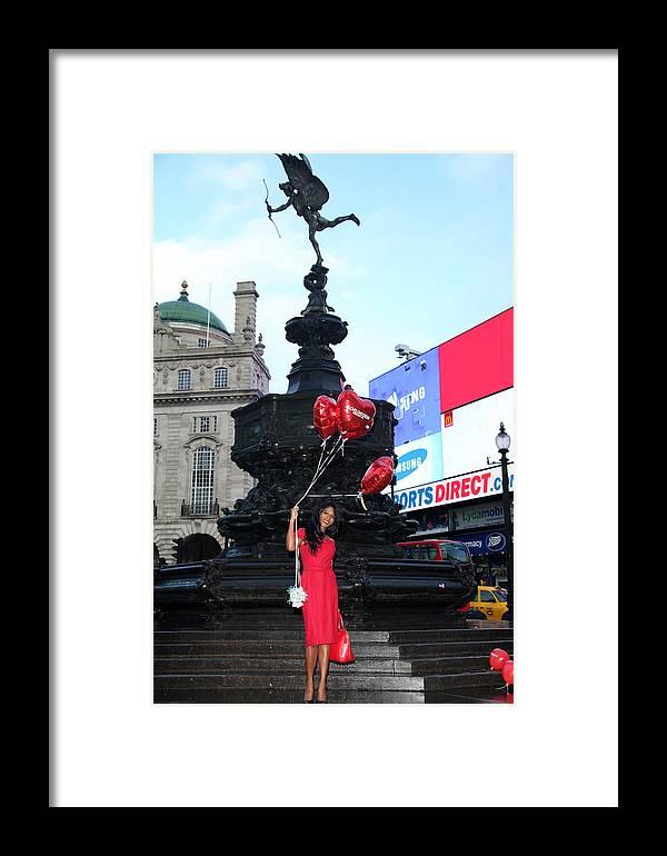 Jezcself Framed Print featuring the photograph Sinitta 9 by Jez C Self