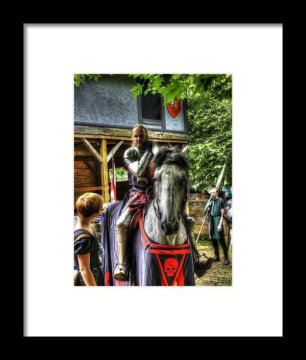 Sir Lancelot Du Lac Framed Print featuring the photograph Sir Lancelot Du Lac by John Straton