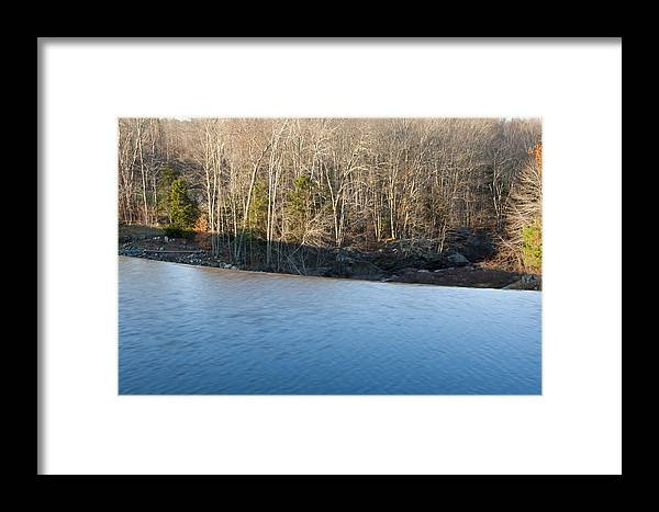 Photography Framed Print featuring the photograph Situate Dam by Steven Natanson