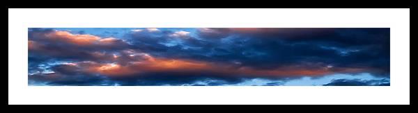 Sky Framed Print featuring the photograph Sky 004 by Agustin Uzarraga
