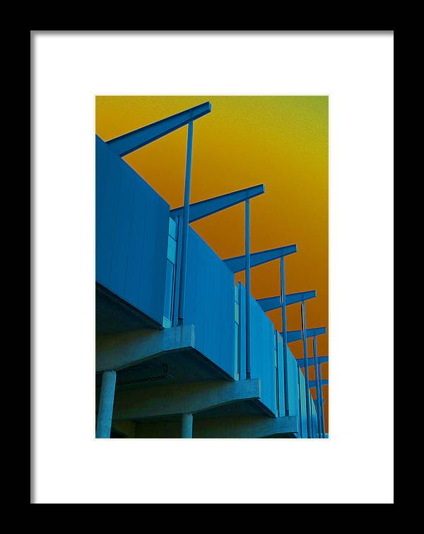 Sci-fi Framed Print featuring the photograph Sky-fi Not Sci-fi by Steve Taylor
