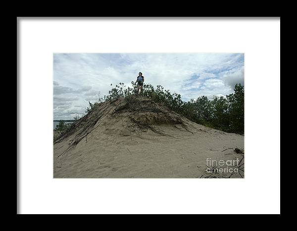 Sand Framed Print featuring the photograph Sky Is The Limit by Andre Paquin