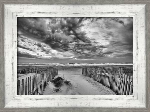 Sky over Ponquogue by Steve Gravano