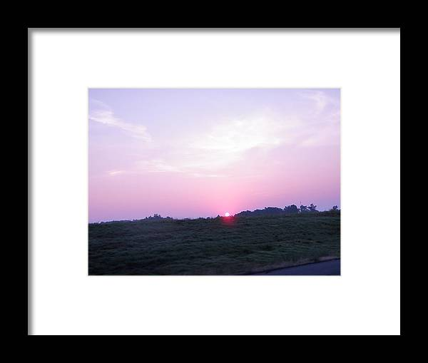 Framed Print featuring the photograph Sky Portrait 2 by Ashley Lamey