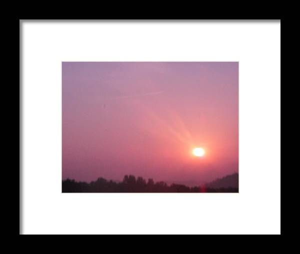 Framed Print featuring the photograph Sky Portrait 3 by Ashley Lamey