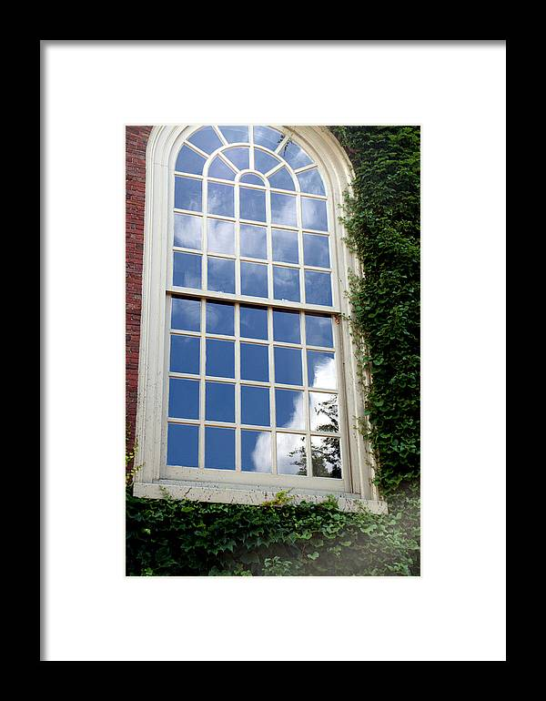 Sky Framed Print featuring the photograph Sky Reflection by Caroline Stella