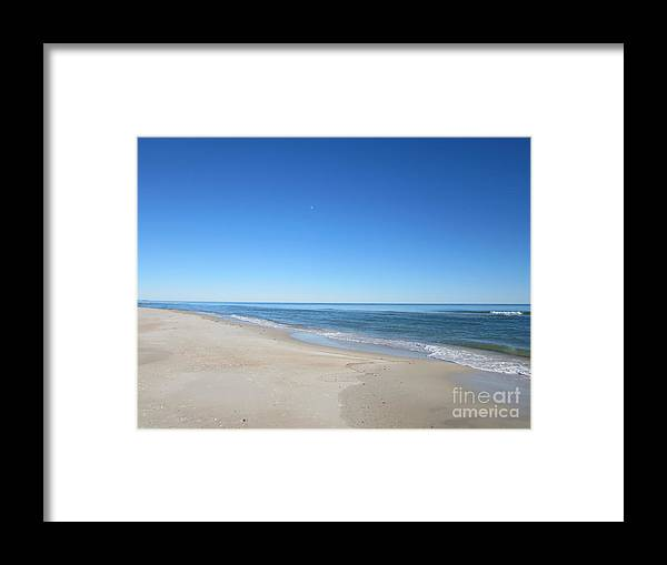Sand Framed Print featuring the photograph Sky View by Nancy Worrell