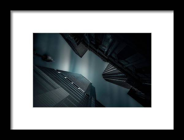 Skyscraper Framed Print featuring the photograph Skyscraper In Sydney by Weihong Liu