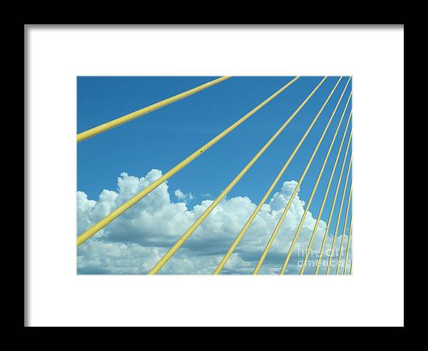 Clouds Framed Print featuring the photograph Skyway To The Clouds by Spyglass Galleries - Captain Layne