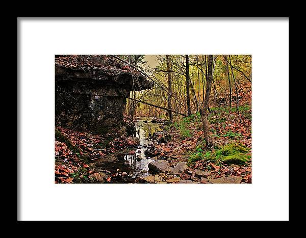 Arkansas Framed Print featuring the photograph Slate Bottom Creek by Benjamin Yeager
