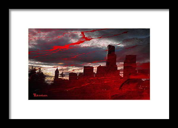 Seattle Wa Framed Print featuring the photograph Sleepless In Seattle... by Sadie Reneau