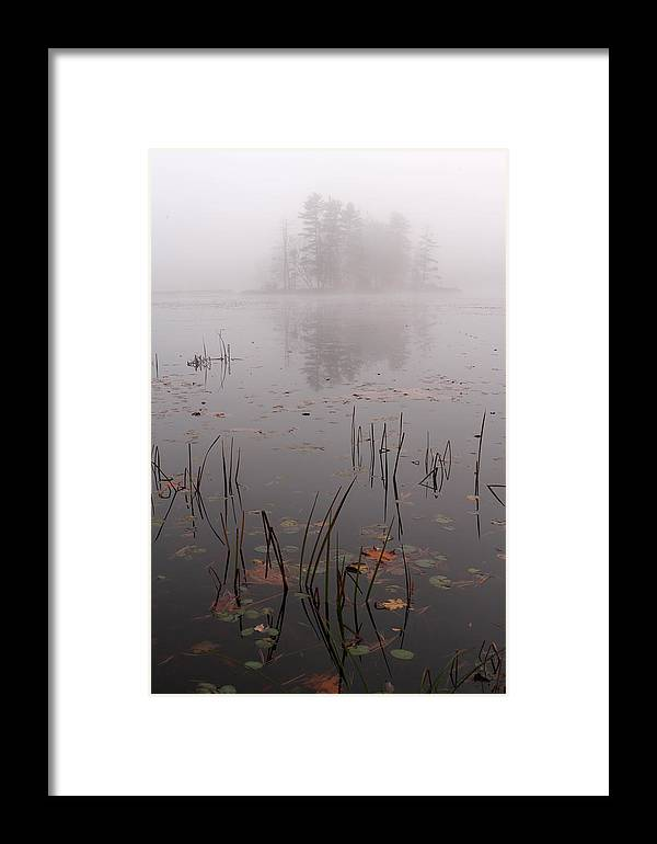 New Framed Print featuring the photograph Sleepy Massachusetts Landscape by Juergen Roth