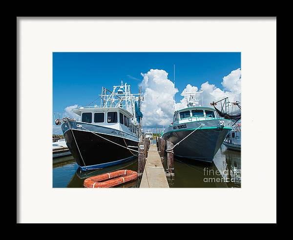 Louisiana Framed Print featuring the photograph Slip 29 by Susie Hoffpauir