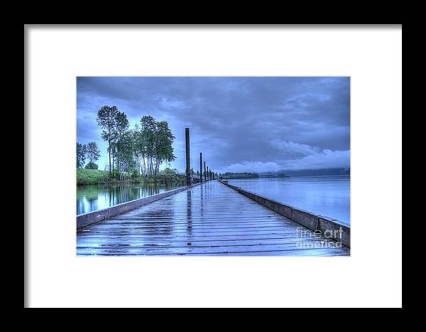 Wet Framed Print featuring the photograph Slippery When Wet by Matt Davis