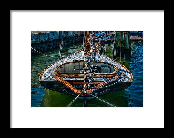 Sloop Framed Print featuring the photograph Sloop by Fred LeBlanc