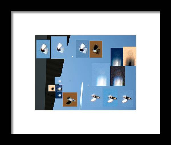Ufo Framed Print featuring the photograph Small Unknown Flyers by Vaswaith Elengwin