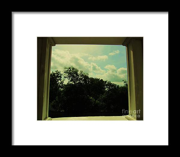 World Framed Print featuring the photograph Small World by Esther Rowden