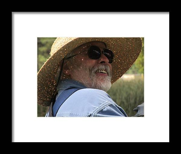 Smiles Framed Print featuring the photograph Smiling Young by Sabasion Bentley-Dyess