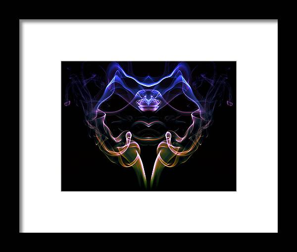 Cigar Framed Print featuring the photograph Smoke Devil by Petra Kontusic
