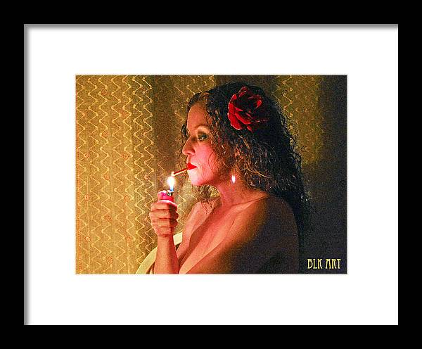 Hot Framed Print featuring the photograph Smoking Hot by Benny Kennedy