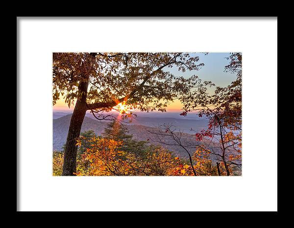 Appalachia Framed Print featuring the photograph Smoky Mountain High by Debra and Dave Vanderlaan