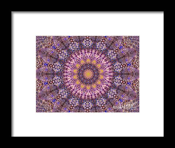 Colorful Framed Print featuring the digital art Snake Eggs by Bobby Hammerstone