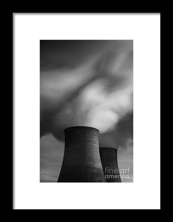 Chimney Pots Framed Print featuring the photograph Soar by Charlotte Gilliatt