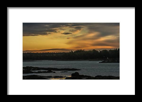 Sunrise Framed Print featuring the photograph Soft Sunrise by Jane Luxton