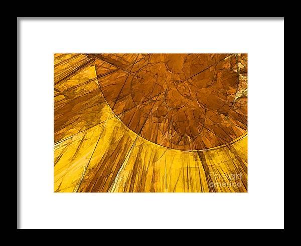 Light Framed Print featuring the digital art Solar Flare by Peggy Hughes