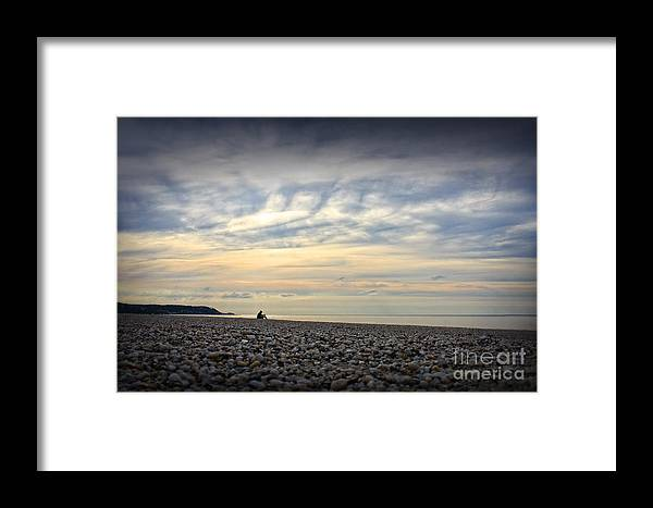 Solice Framed Print featuring the photograph Solice On The Beach by Paul Cammarata
