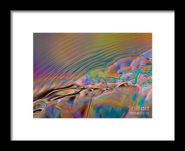 Abstract Framed Print featuring the photograph Solitude by Anthony Sacco