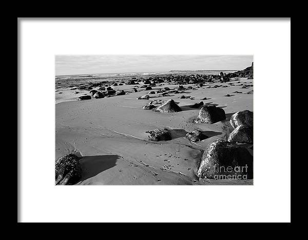 Beach Framed Print featuring the photograph Solitude by Cassandra Buckley