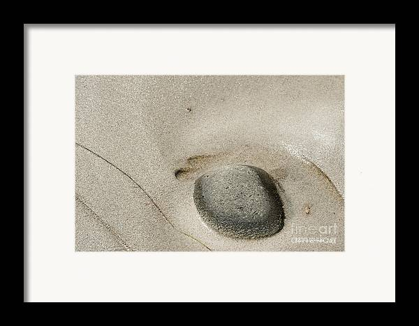 Big Sur Framed Print featuring the photograph Solitude by Artist and Photographer Laura Wrede
