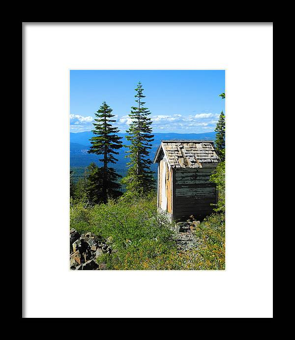 Mountains Framed Print featuring the photograph Solitude by Sue McElligott