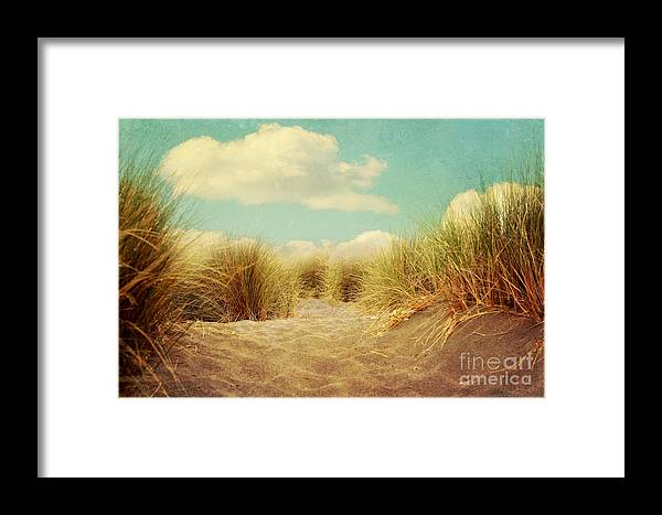 Landscape Framed Print featuring the photograph Solitude by Sylvia Cook