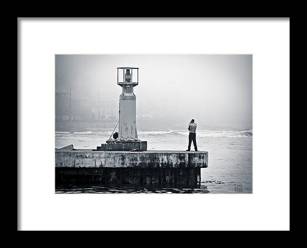 Kalk Bay Framed Print featuring the photograph Solitude by Tom Hudson