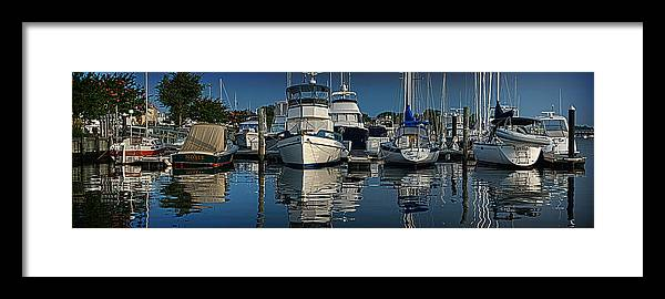 Boat Framed Print featuring the photograph Solomon's by Brian Archer