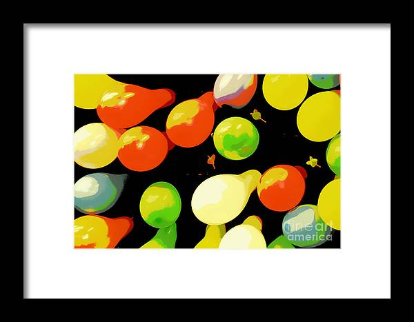 Balloon Framed Print featuring the photograph Sorry Not A Winner by Joe Jake Pratt